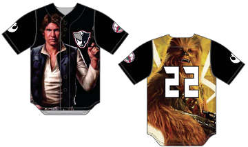 Star Wars themed jerseys worn by the Somerset Patriots will be raffled off at the end of the evening with the proceeds being donated to be Beez Foundation.
